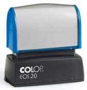 "EOS-20 Pre-Inked Stamp<br>1/2"" x 1-1/16""<br>(14mm x 38mm)"