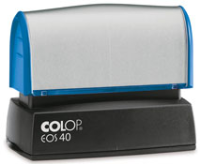 "EOS-40 Pre-Inked Stamp<br>7/8"" x 2 1/4""<br>(23 x 59 mm)"