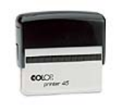 "P45 Self-Inking Stamp<br>1"" x 3-1/4""   up to 8 lines"
