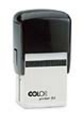 "P54 Self Inking Stamp<br>1-9/16"" x 1-15/16""   up to 12 lines"