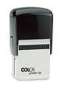 "P55 Self Inking Stamp<br>1-9/16"" x 2-3/8""   up to 14 lines"
