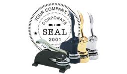Legal Seals/ Embossers
