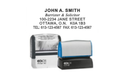 Name & Address Stamps