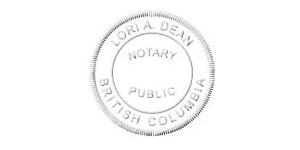 BC Notary Public Combo